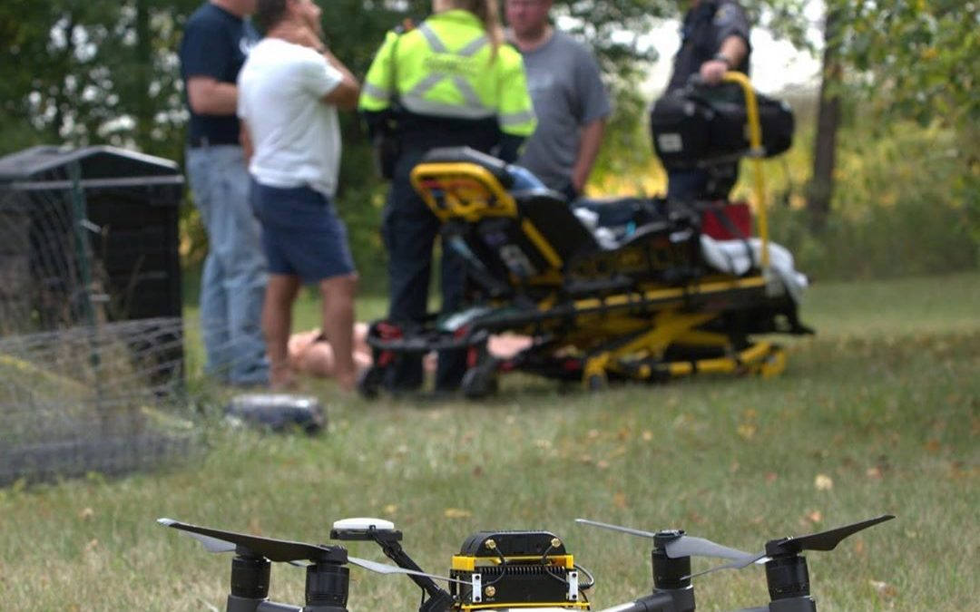 October 2, 2019 – Freight Waves: Today's Pickup This Drone Could Save Your Life