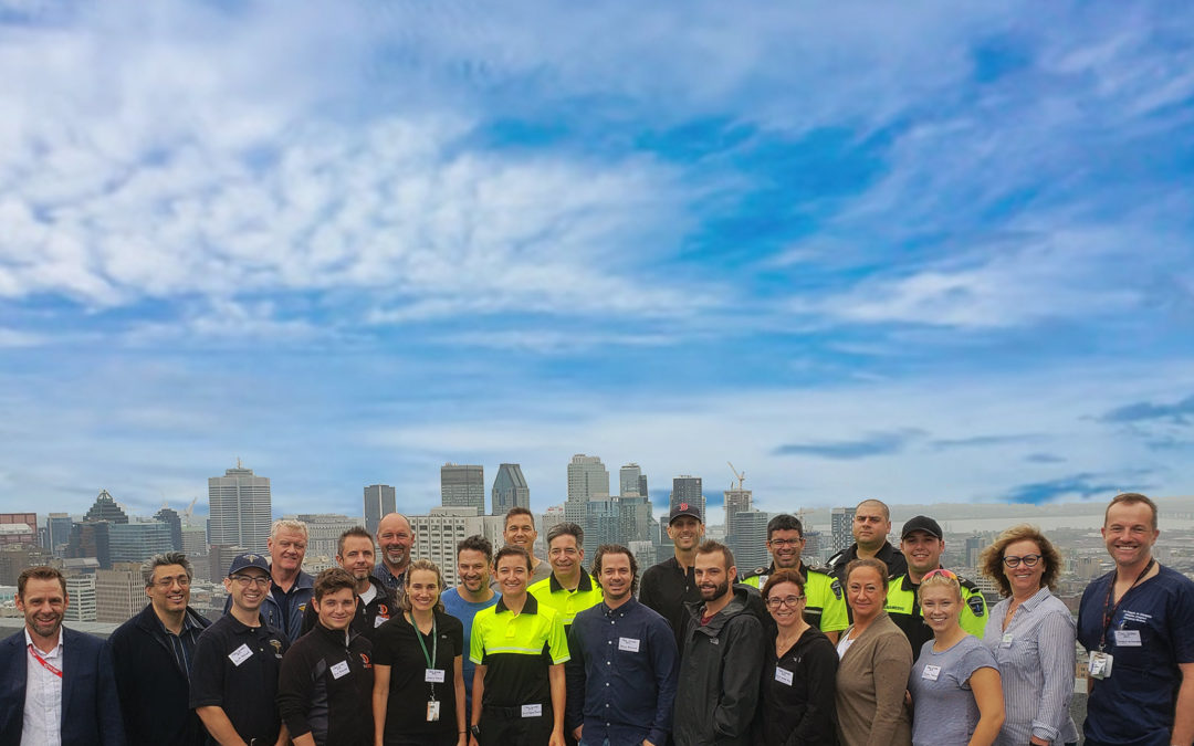 September 2019, Indro Robotics leads successful delivery of simulated blood products to Montreal Gen