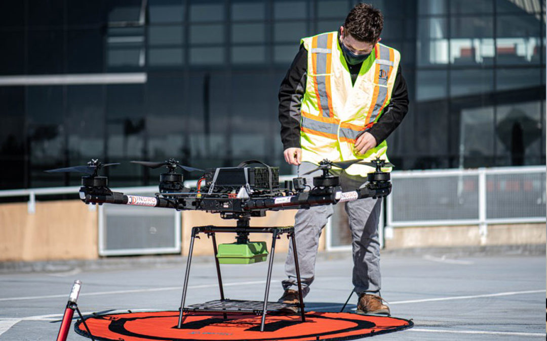 First RPAS Flights in Canada to use 5G Network Made Possible by InDro Robotics and Rogers
